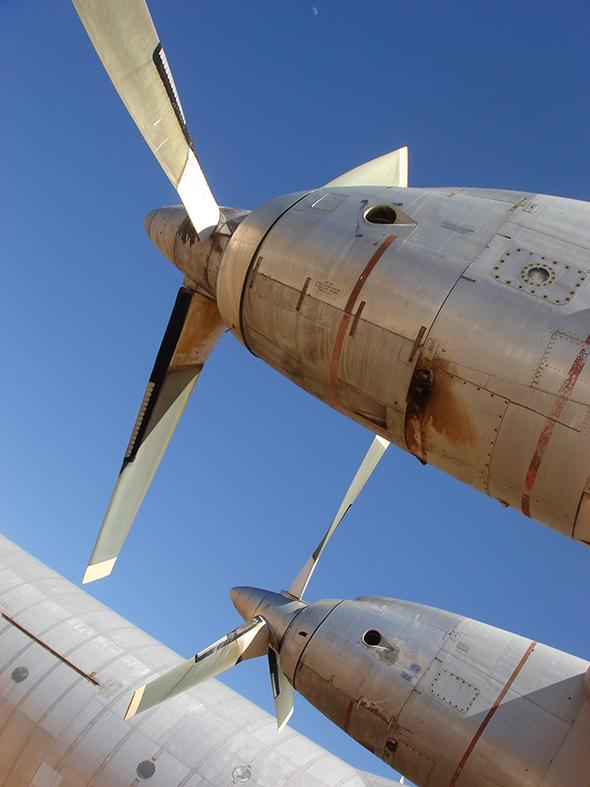 Airplane graveyard. Amazing.