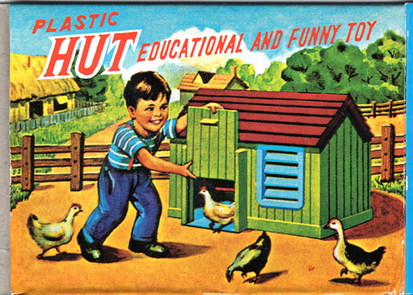 Plastic: Yes. Educational: No. Funny: Yes. Two out of 3.